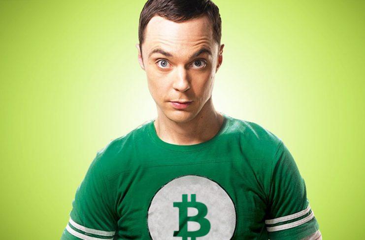 Image of Sheldon Explaining Bitcoin