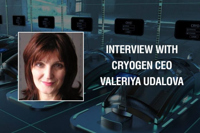 Cryogen CEO Interview Valeriya Udalova