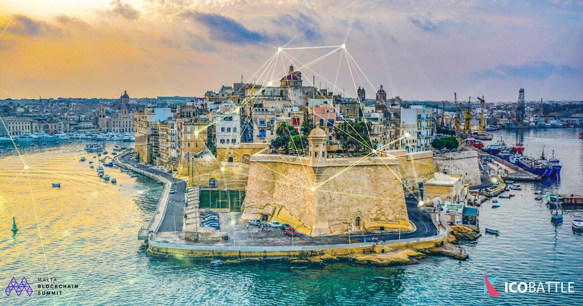 Image of Malta Harbour - Malta Blockchain Summit CEO Eman Pulis Interview